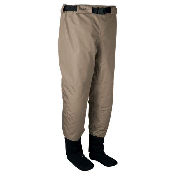 Cabelas Premium Breathable Stocking-Foot Pant Waders for Men