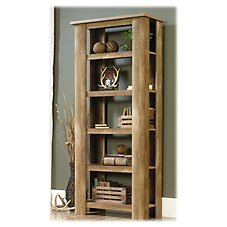 Sauder Woodworking Boone Mountain Collection 5-Shelf Bookcase