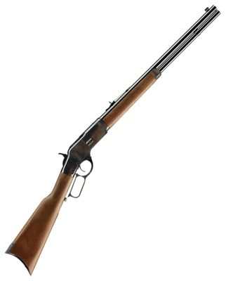 Winchester Model 1873 Short Color Case-Hardened Lever-Action Centerfire Rifle