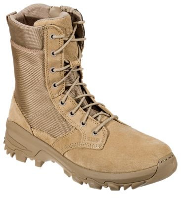 511 Tactical Speed 30 Coyote Side Zip Work Boots for Men Coyote 12M