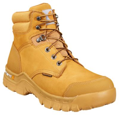36655a934e9 Carhartt Rugged Flex Wheat Waterproof Composite Toe Work Boots for ...