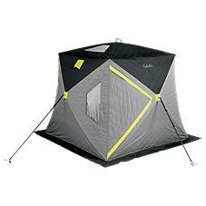 Cabela's Wide-Bottom Thermal Hub Ice Shelter