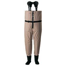 Cabela's Premium Zip Breathable Stocking-Foot Fishing Waders for Men