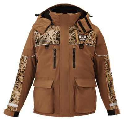 Striker Ice Climate Series Jacket System for Men - Brown/Camo - S
