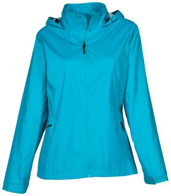 Cabela's Rain Swept Jacket with 4MOST REPEL for Ladies - Scuba Blue - XL