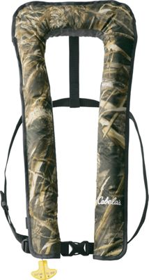 Cabela's Essential 2500 Manual Inflatable PFD Realtree MAX-5