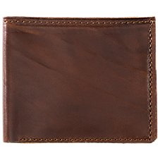 Cabela's Premium Leather Billfold Wallet