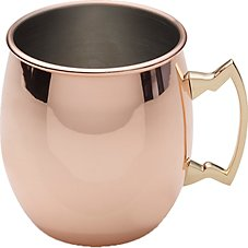 Lifetime Brands Copper Plated Mule Mug