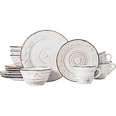 Lifetime Brands Trellis 16-Piece Dinnerware Set