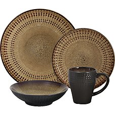 Lifetime Brands Cambria 16-Piece Dinnerware