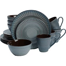 Lifetime Brands Broadway 16-Piece Dinnerware Set