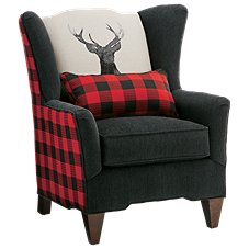 Modern of Marshfield Nostalgic Checkered Buck Chair