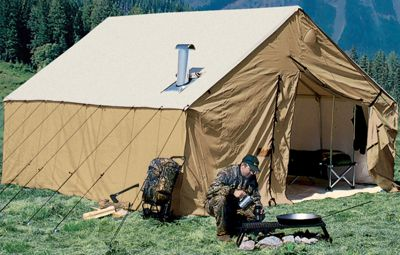 Cabela's Outfitter Blend Wall Tents by Montana Canvas