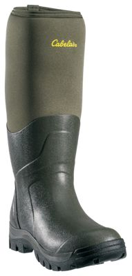 f50b8b2689b Cabelas Outdoor Rubber Boots for Men Olive 13M