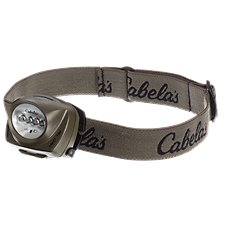 Cabela's by Princeton Tec Alaskan Guide Series QUL Headlamp