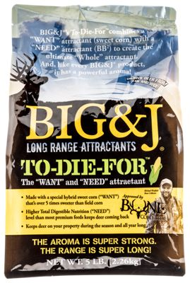 Big & J To-Die-For Nutritional Supplement Deer Attractant