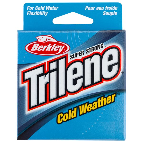 Berkley Trilene Cold Weather Monofilament Line - Electric Blue - 2 lb. 110 Yards