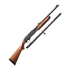 Remington Model 870 Express Pump-Action Shotgun Combo with Slug Barrel