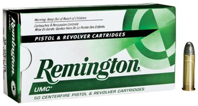 Remington UMC Handgun Ammo – .357 Magnum – 125 Grain – 50 rounds