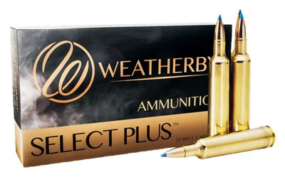 Weatherby Select Plus Hornady InterLock Centerfire Rifle Ammo