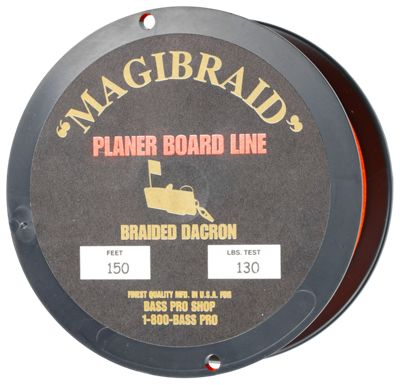 Planer board line bass pro shops for Bass pro fishing line