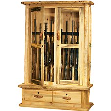 Mountain Woods Furniture 10-Gun Cabinet