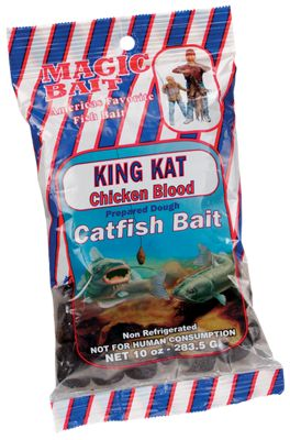 Magic Bait Prepared Dough Catfish Bait - Shrimp/Chicken Blood