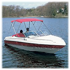Attwood 3-Bow Bimini Tops - Frame Only - 6'