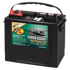 Bass Pro Shops XPS Power Series Deep Cycle and Starting 12-Volt Dual Purpose 120 Marine Battery