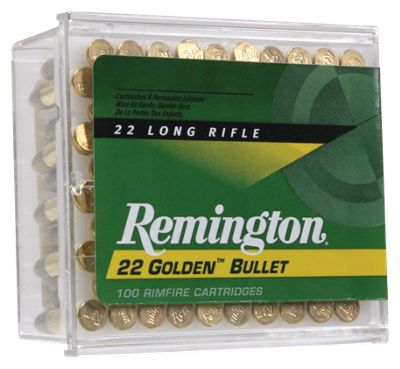 Remington Golden Bullet .22 Rimfire Ammo – Plated Hollow Point – 525 Rounds