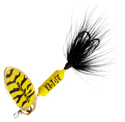 Worden's Original Rooster Tail – 1/16 oz. – Yellow Tiger