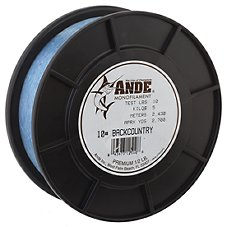 Ande Back Country Monofilament Line - 1/2 lb. Spool