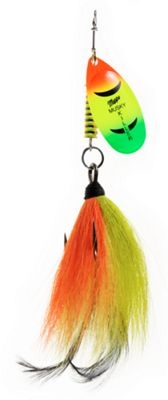 Mepps Musky Killer Lure – Firetiger Painted Blade – 3/4 oz