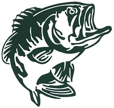 Bass pro shops outdoor action decals bass bass pro shops for Bass pro shop fishing