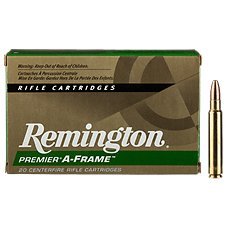Remington Premier A-Frame Centerfire Rifle Ammo