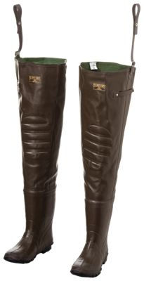 new style 8a75d a2443 RedHead Bone Dry Rubber Boot Foot Hip Waders for Men Ladies ...