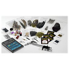 White River Fly Shop Deluxe Fly Tying Kit - Trout Tying Image