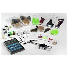 White River Fly Shop Deluxe Fly Tying Kit - Bass Tying