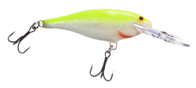 Rapala Shad Rap Hard Bait SR07 – Silver Fluorescent Chartreuse