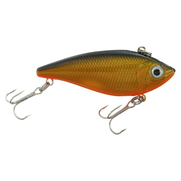 Bass Pro Shops XTS Lures Vibrator- 1-5/8' - Gold/Black Back