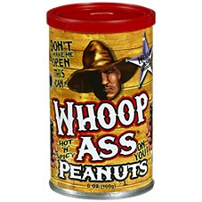 Whoop Ass Hot 'n' Spicy Peanuts