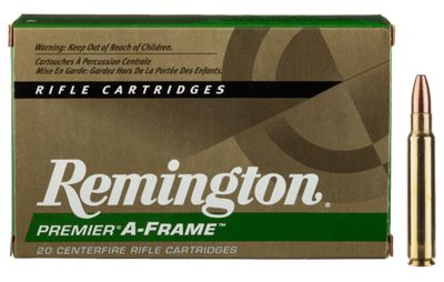 Remington Premier A-Frame Centerfire Rifle Ammo – .375 Remington Ultra Magnum