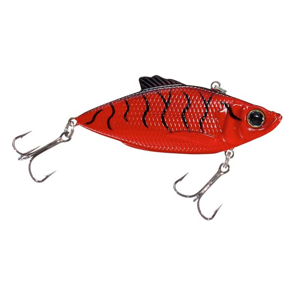 Bass Pro Shops XTS Rattle Shad - 3' - Red Crawfish