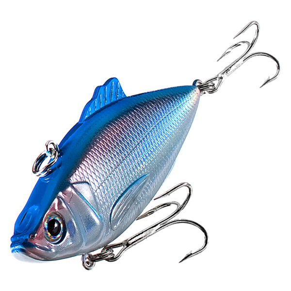 Bass Pro Shops XTS Rattle Shad - 3' - Blue Back/Silver Shad
