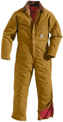 Carhartt Lined Duck Coveralls for Men by