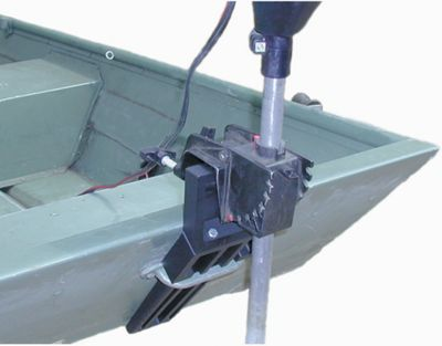 Jon Boat Trolling Motor Bracket for Bow or Stern