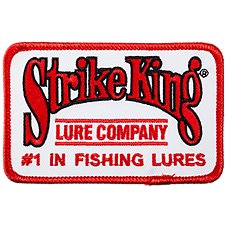 Outdoorsman Strike King Fishing Patch