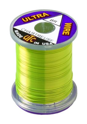 UTC Ultra Wire Brilliant Colours PRICE IS FOR TWO SPOOLS Fly Tying Wire