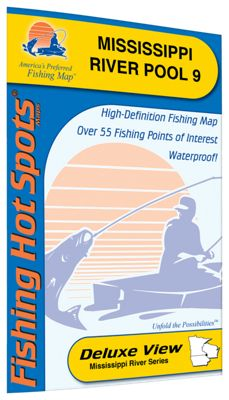 Fishing Hot Spots Freshwater Lake and River Fishing Map Moultrie