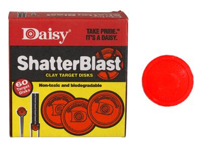 DAISY OUTDOOR PRODUCTS Target Refill,Shtterblst 60//Bx,No 873